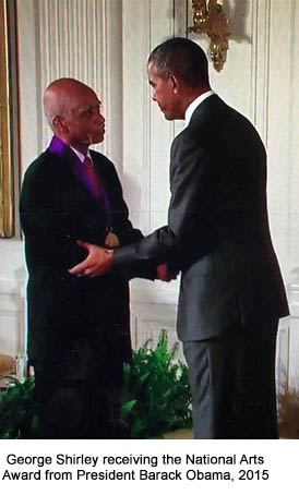 George Shirley receives National Arts Award from President Barack Obama