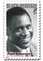 Paul Robeson Stamp